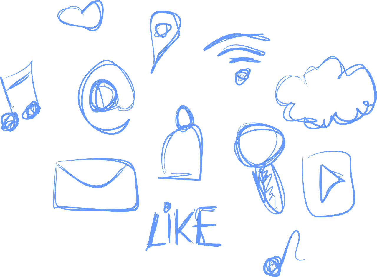 scrittura testi per social